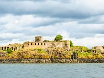 Inchgarvie Island in the Firth of Forth. Edinburgh, Scotland. UK Stock Image