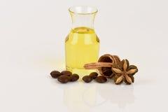 Inchi de Sacha, inchi de Sacha, Sacha mani, huile d'arachide d'Inca des graines et Sacha images stock