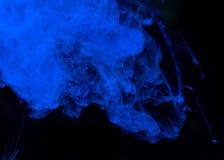Inchiostri in acqua, astrazione di colore Fotografie Stock