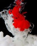 Inchiostri di fondo astratti di colore in acqua Fotografia Stock Libera da Diritti