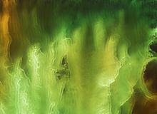 Inchiostro dell'alcool, acrilico, fondo astratto variopinto dell'acquerello immagine stock