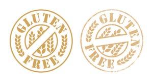 Inchiostro di timbro di gomma libero del glutine Immagine Stock Libera da Diritti