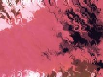Inchiostro nel colore rosa - illustrazione Fotografia Stock Libera da Diritti