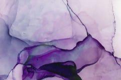 Inchiostro, pittura, astratta Fondo astratto variopinto della pittura pittura ad olio Alto-strutturata Deta di alta qualità Illustrazione di Stock