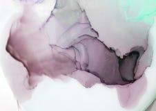 Inchiostro, pittura, astratta Fondo astratto variopinto della pittura pittura ad olio Alto-strutturata Deta di alta qualità Royalty Illustrazione gratis