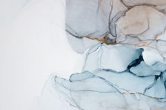 Inchiostro, pittura, astratta Fondo astratto variopinto della pittura pittura ad olio Alto-strutturata DetaInk di alta qualità, p illustrazione vettoriale