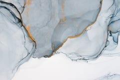 Inchiostro, pittura, astratta Fondo astratto variopinto della pittura pittura ad olio Alto-strutturata DetaInk di alta qualità, p royalty illustrazione gratis
