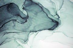 Inchiostro, pittura, astratta Primo piano della pittura Fondo astratto variopinto della pittura pittura ad olio Alto-strutturata  fotografia stock