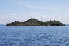 Inchkeith Island Royalty Free Stock Photo
