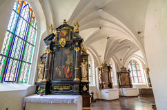 Incide of church Stock Images