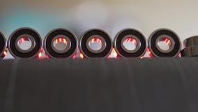 Incidences pour le longboard sur le chapeau de carbone clips vidéos