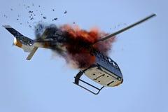 Incidente aereo Immagine Stock