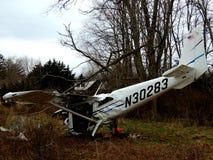 Incidente aereo Immagini Stock