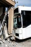 Incidente del bus immagini stock libere da diritti