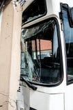 Incidente del bus fotografia stock