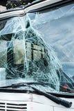 Incidente del bus fotografia stock libera da diritti