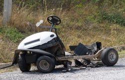 Incidente del carretto di golf Immagine Stock