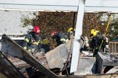 Incidente del pistolero del incendio provocado en Springfield Oregon el 27 de octubre imagen de archivo