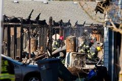 Incidente del pistolero del incendio provocado en Springfield Oregon el 27 de octubre foto de archivo libre de regalías