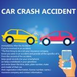 Incidente di incidente stradale Immagine Stock Libera da Diritti
