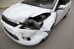 Incidente di traffico. Fotografie Stock Libere da Diritti