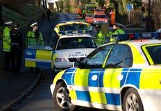 Incidente di traffico 3 della strada Fotografie Stock
