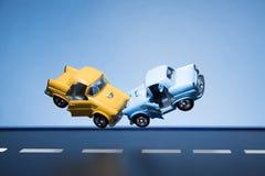 Incidente di traffico Fotografie Stock Libere da Diritti