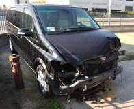 Incidente stradale Immagine Stock