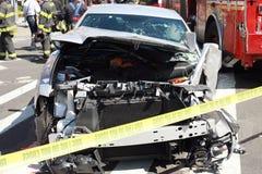 Incidente stradale Fotografie Stock Libere da Diritti