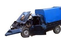 Incidente stradale anteriore immagine stock libera da diritti