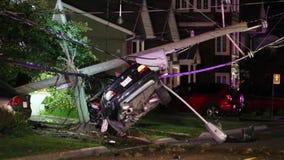 Incidente stradale spettacolare archivi video
