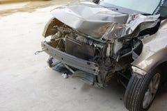 Incidente sull'automobile anteriore Immagine Stock Libera da Diritti