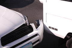 Incidenti stradali fotografie stock