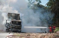 Incidenti stradali durante le ore diurne fotografia stock libera da diritti