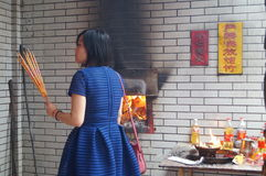 incinerador imagenes de archivo