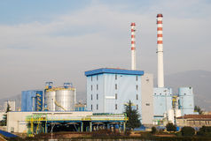 Incineration plant Stock Images