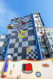 Incineration Plant in Vienna, built by the famous Austrian architect Friedensreich Hundertwass Stock Photography