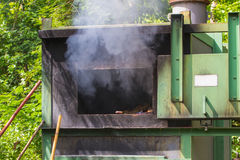 Incinerator in national park Stock Images