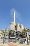 Incinerator plant in Barcelona Royalty Free Stock Photography
