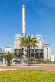 Incinerator plant in Barcelona Royalty Free Stock Images
