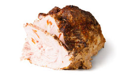 Incised Cold Baked Pork Royalty Free Stock Photography