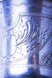 Incisione d'argento fotografia stock