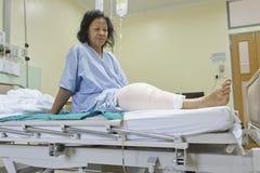 Incisione della sostituzione del ginocchio Immagini Stock