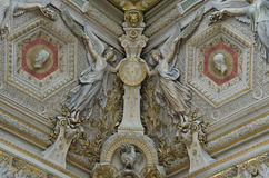 Incisione di marmo di angelo fotografie stock libere da diritti