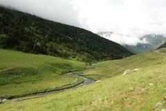 Incles valley in Andorra Stock Photos