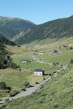 Incles valley in Andorra Stock Image