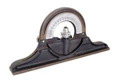 Inclinômetro - retro imagem de stock royalty free
