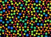 Inclinação alaranjado vermelho do fundo abstrato, cor-de-rosa, azul colorido fotografia de stock
