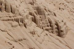 Inclinação da areia Fotos de Stock