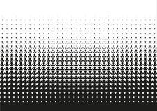Inclinação de intervalo mínimo do teste padrão de ponto no formato do vetor Fotografia de Stock Royalty Free